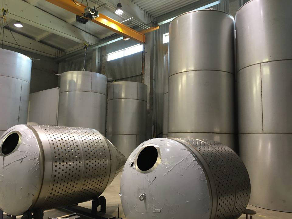 Stainless Tank Shells
